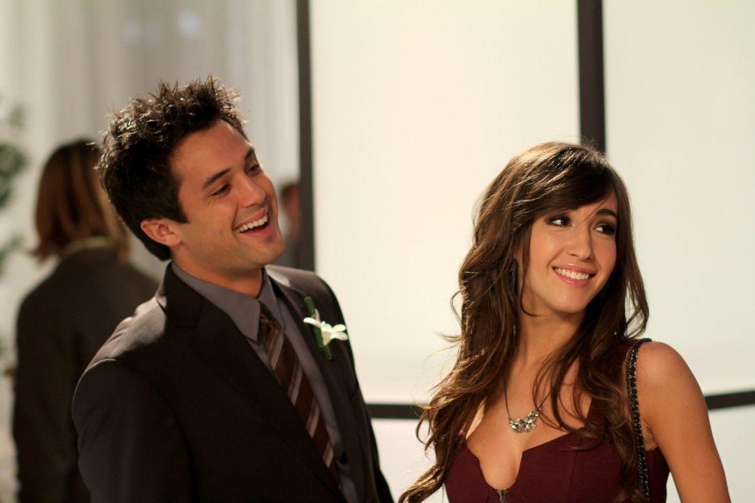 Sind Chase (Stephen Colletti, l.) und Mia (Kate Voegele, r.) wirklich nur gute Freunde? Alex kann es nicht wirklich glauben ... - Bildquelle: Warner Bros. Pictures