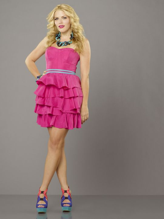 (3. Staffel) - Ihr Taktgefühl lässt zwar hin und wieder zu wünschen übrig, doch das gleicht Laurie (Busy Philipps) durch ihre fröhliche Art wie... - Bildquelle: 2011 American Broadcasting Companies, Inc. All rights reserved.