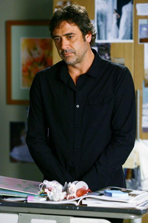 Am Tag von Meredith und Dereks Hochzeit steht plötzlich Denny (Jeffrey Dean Morgan) wieder vor Izzie. Sie weiß genau, was dies zu bedeuten hat ... - Bildquelle: Touchstone Television