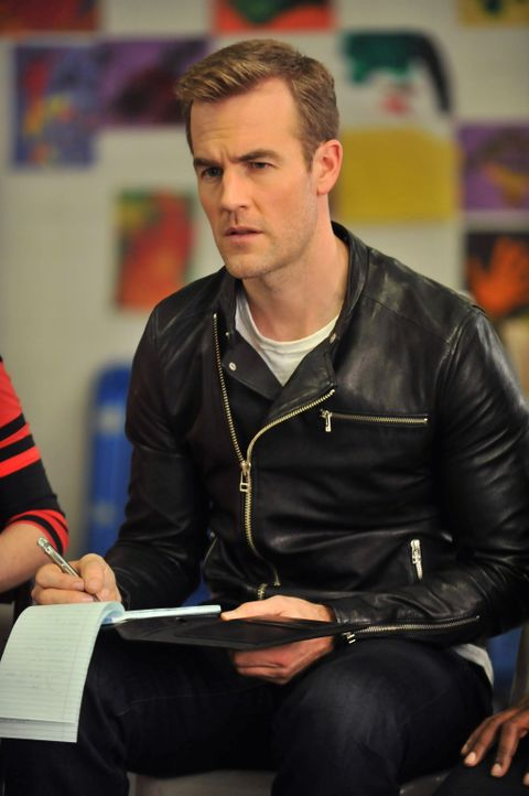 "James Van Der Beek (James Van Der Beek) steckt in einer ""Findungsphase"" - wie so oft ... - Bildquelle: 2012 American Broadcasting Companies. All rights reserved."