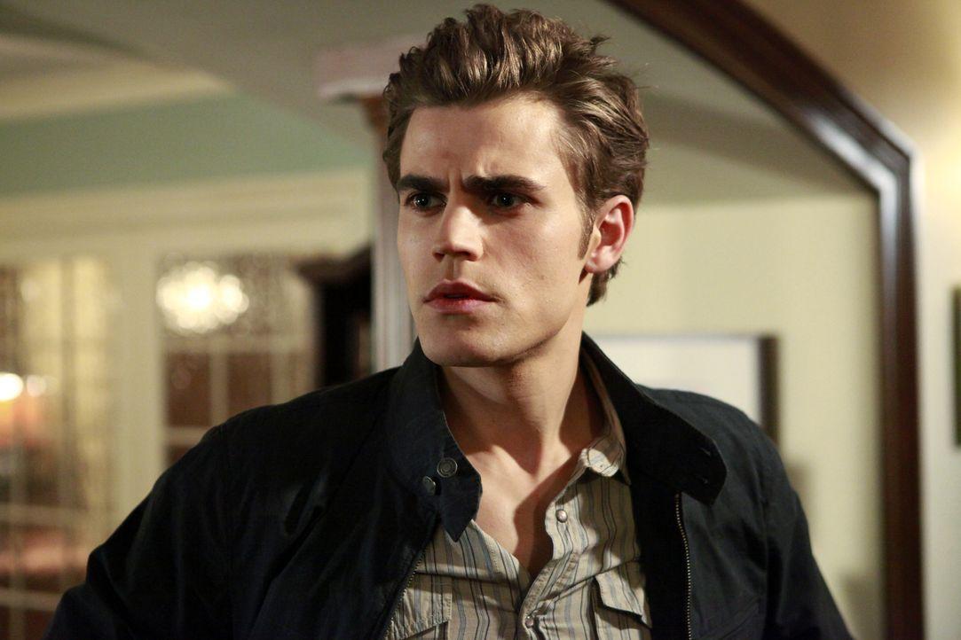 Wer ist dieser fremde Vampir? Stefan (Paul Wesley) ist besorgt, dass seinen Freunden etwas zustößt und sein Geheimnis verraten wird ... - Bildquelle: Warner Bros. Television