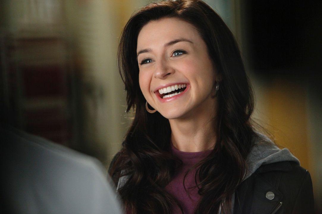 Derek bekommt unerwartet Besuch von seiner Schwester Amelia (Caterina Scorsone) ... - Bildquelle: ABC Studios