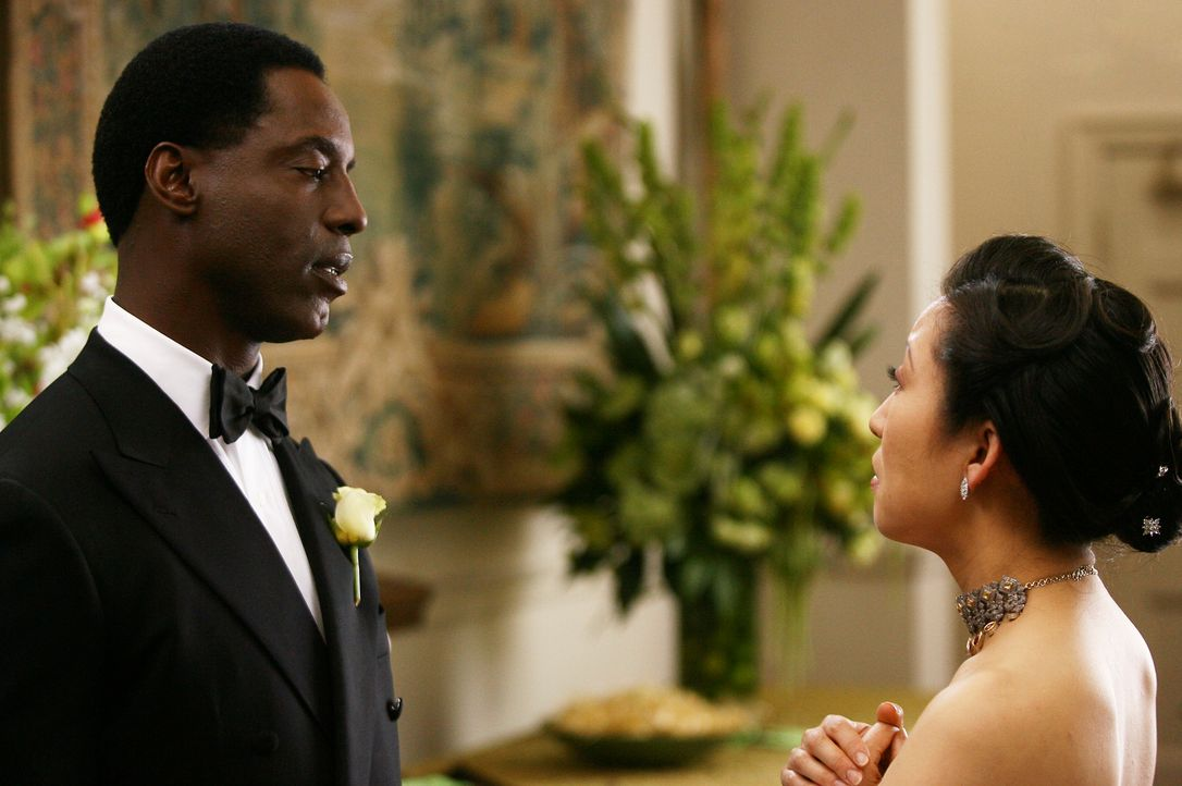 Ein Tag den Burke (Isaiah Washington, l.) und Cristina (Sandra Oh, r.) nie vergessen werden ... - Bildquelle: Touchstone Television