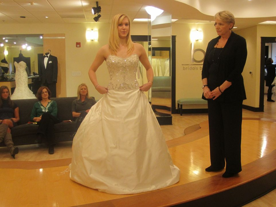 Ist das Laurens Hochzeitskleid? - Bildquelle: TLC & Discovery Communications