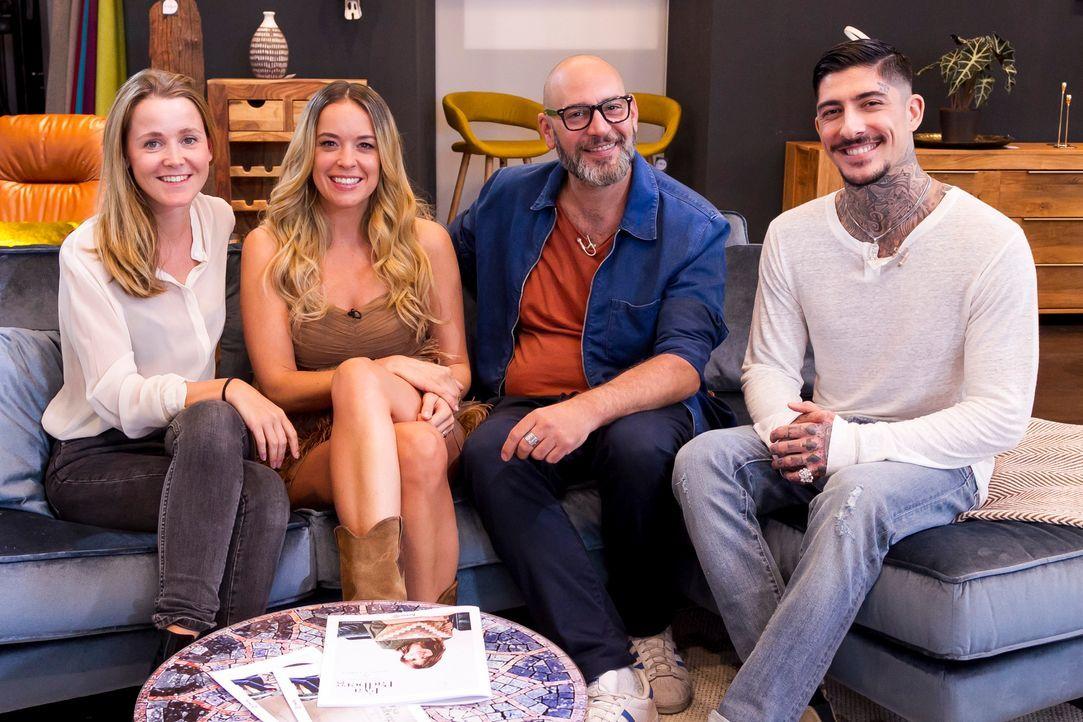 Home24-Chefeinrichter Steven Schneider mit Carolin Muschkorgel, Daniel Bamdad und Marina Hoermanseder_c_Ann Kathrin-Wuttke