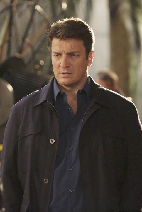 Als Castles (Nathan Fillion) liebster 80er Jahre Actionstar auf mysteriöse Weise umgebracht wird, versucht er alles, um den Fall schnellstmöglich zu... - Bildquelle: ABC Studios