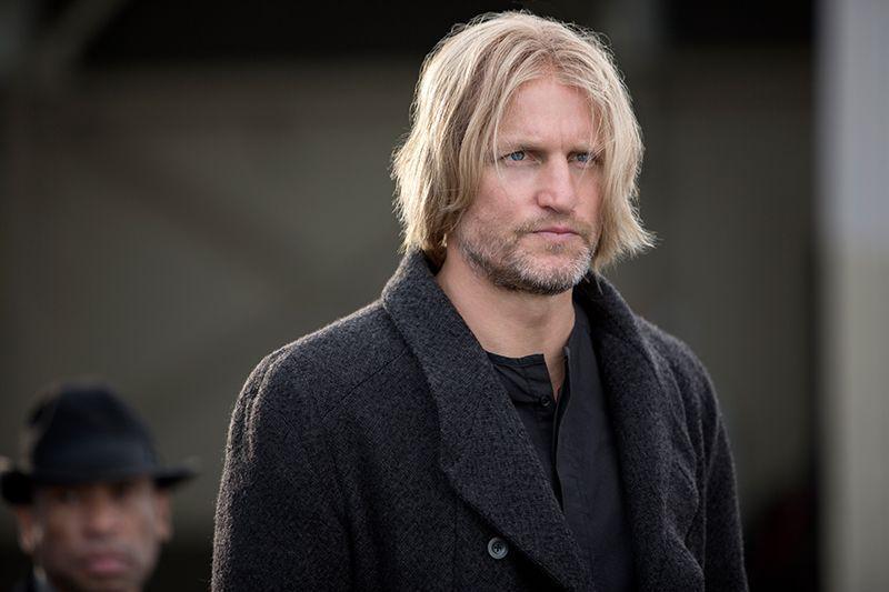 Woody Harrelson spielt Haymitch Abernathy
