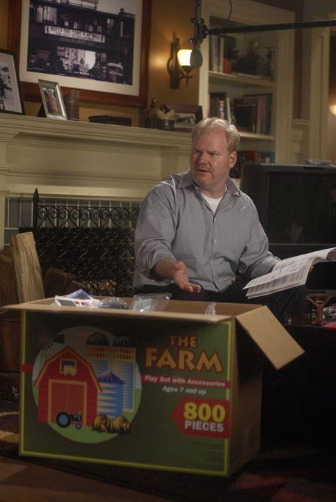 Der verheiratete Andy (Jim Gaffigan) langweilt sich, während seine Kumpels ausgehen, um Frauen aufzureißen ... - Bildquelle: 2006 Sony Pictures Television Inc. All Rights Reserved.