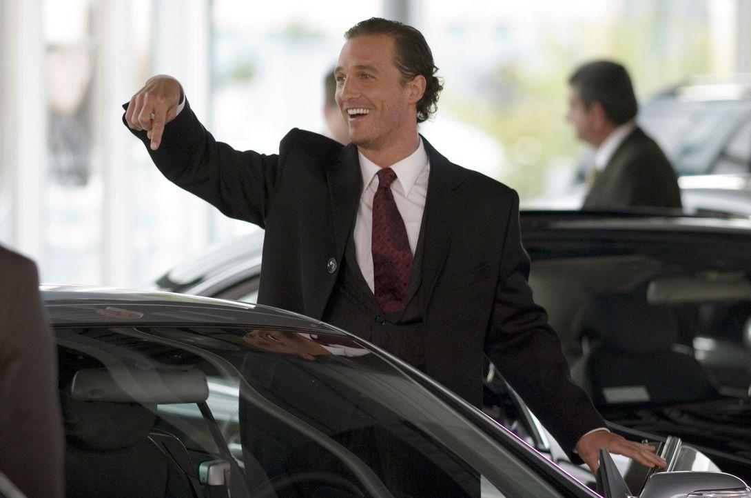 Zunächst gelingt Brendon (Matthew McConaughey) ein Coup nach dem nächsten und er erwettet Millionen. Doch dann verlässt ihn sein Glück ... - Bildquelle: Morgan Creek Productions