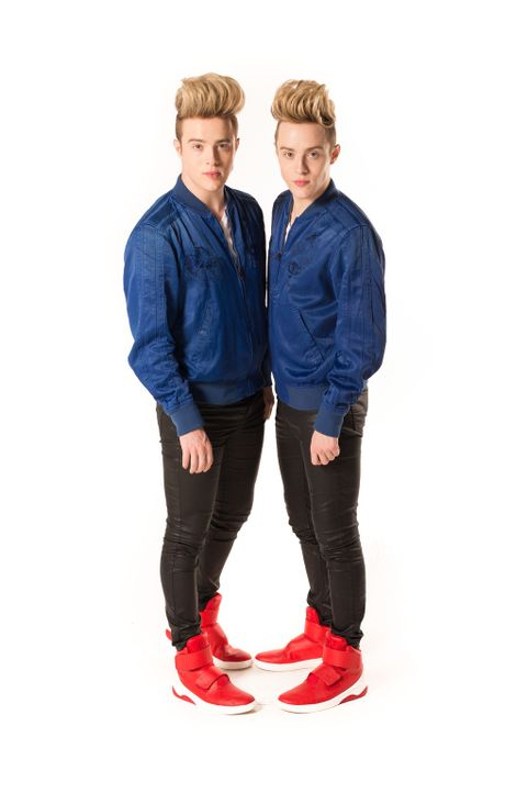 Vorher: Jedward - Bildquelle: Licensed by Fremantle Media Enterprises Ltd.