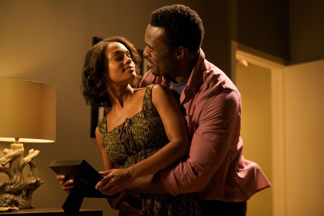 Noch glauben Treshawn Jackson (Lyriq Bent, r.) und seine Frau Gina (Kandyse McClure, l.), dass sie einen wunderschönen Abend mit den Freunden verbri...