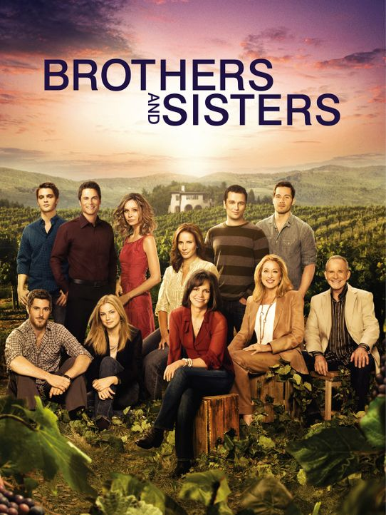 "(4. Staffel) - ""Brothers & Sisters"" - Plakatmotiv - Bildquelle: 2009 American Broadcasting Companies, Inc. All rights reserved."