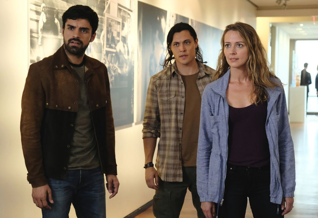 (v.l.n.r.) Marcos (Sean Teale); John (Blair Redford); Kate (Amy Acker) - Bildquelle: 2018-2019 Fox and its related entities.  All rights reserved.  MARVEL TM &   2017 MARVEL