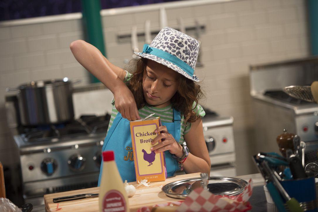 Gourmet Rachel muss aus Sahne, Steak, Yuzu Saft und Pluots einen Hauptgang kochen. Wie wird ihre Kreation bei der Experten-Jury ankommen? - Bildquelle: Scott Gries 2015, Television Food Network, G.P. All Rights Reserved