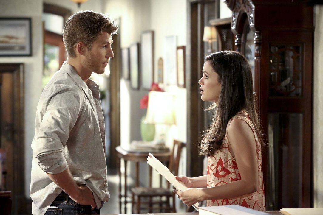 Nachdem Zoe (Rachel Bilson, r.) ein Geheimnis über Brick aus Jonah (Travis Van Winkle, l.) herausbekommen hat, macht sie einen Fehler, der Bricks Li... - Bildquelle: Warner Bros.