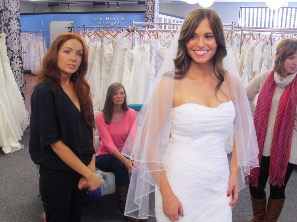 Viele Diamanten, ein Kleid von Vera Wang und die Traumvorstellung eines Meerjungfrauenkleides. Bei Noel, Brenna und Sam wird es nicht einfach, die p... - Bildquelle: TLC