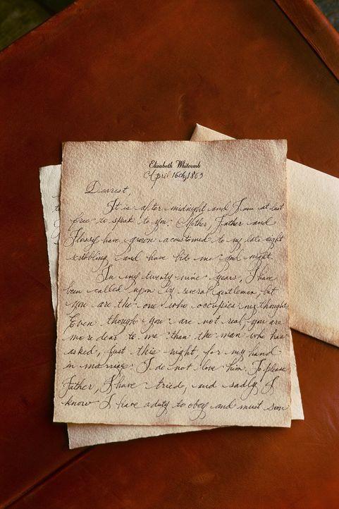 Der Liebesbrief ... - Bildquelle: Hallmark Entertainment