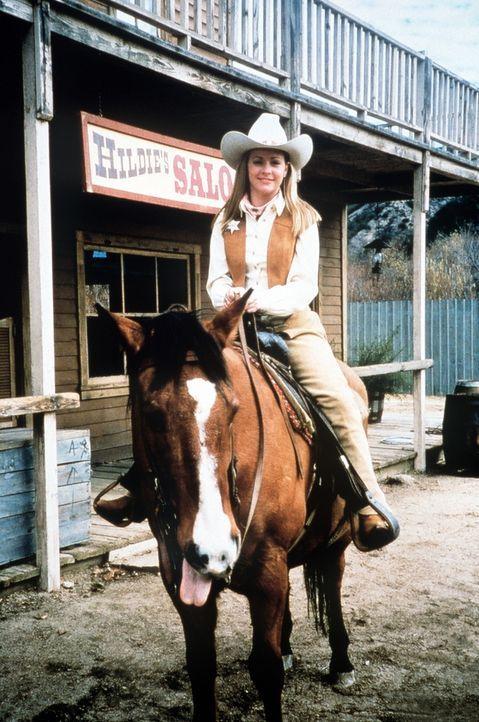 Als Sheriff auf dem Ross, soll Sabrina (Melissa Joan Hart) für Recht und Ordnung sorgen. - Bildquelle: Paramount Pictures