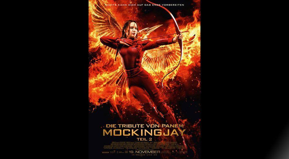 Hauptposter Mockingjay Teil 2 - Bildquelle: Lionsgate
