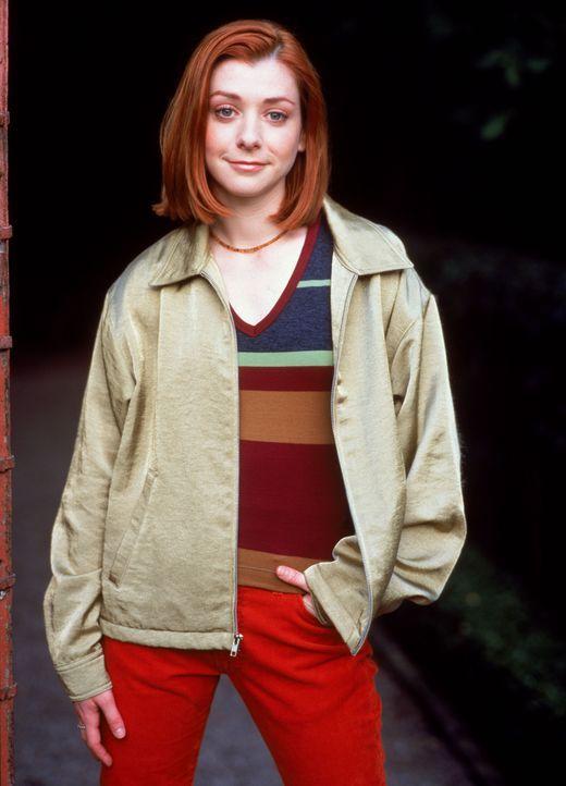 (3. Staffel) - Die hilfsbereite, aber eher schüchterne Willow (Allison Hannigan) hat einen starken Sinn für politische Ungerechtigkeiten und für Unt... - Bildquelle: (1999) Twentieth Century Fox Film Corporation.