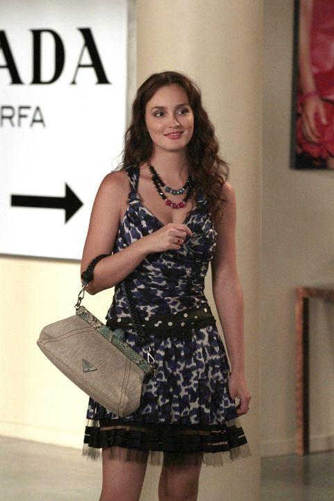 Ihre Verlobung steht auf dem Spiel nachdem Louis von einer angeblichen Affäre zwischen Blair und Dan liest: Blair (Leighton Meester) ... - Bildquelle: Warner Bros. Television
