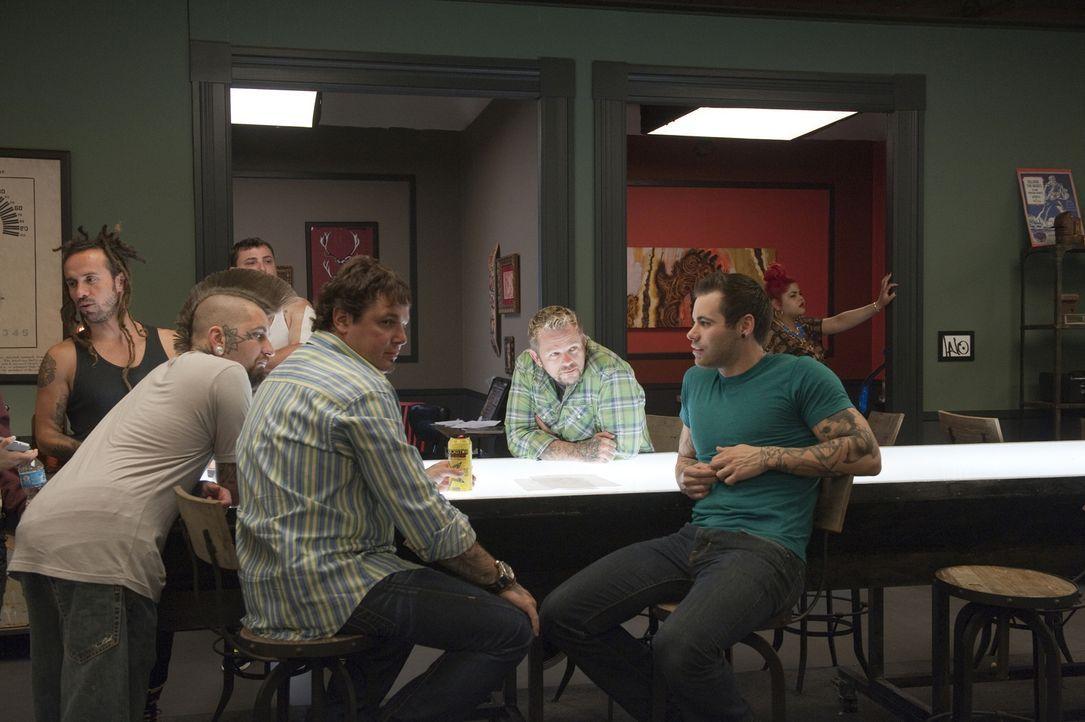 Neue Aufgaben warten (v.l.n.r.) Lalo, Clint, Steve, Big Daddy und Nick ... - Bildquelle: Spike TV