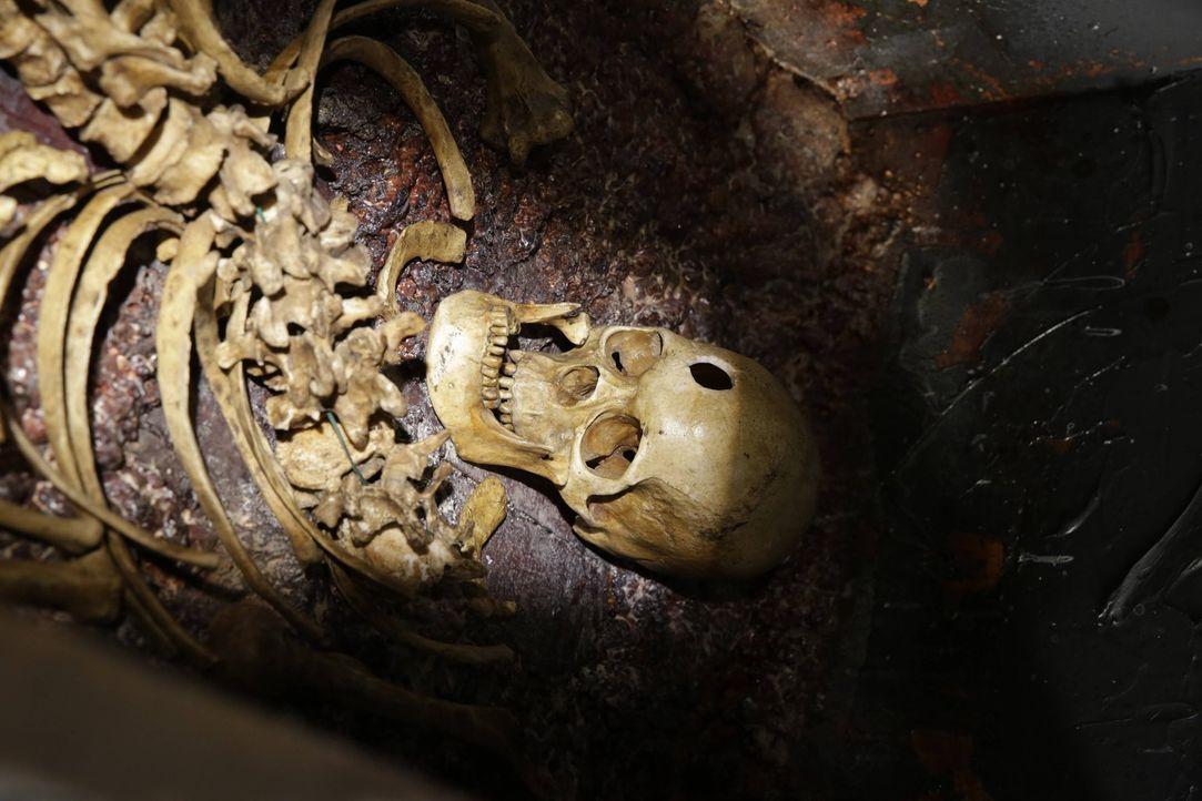 Henry ist geschockt: Das gesunkene Schiff hat etwas mit seinem eigenen, ersten Tod zu tun ... - Bildquelle: Warner Bros. Television