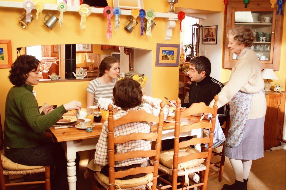 Vor den Nachbarn und der Gemeinde versucht Familie Goodfellow alle Probleme totzuschweigen, doch langsam bröckelt der Putz von der perfekten Fassad... - Bildquelle: Constantin Film