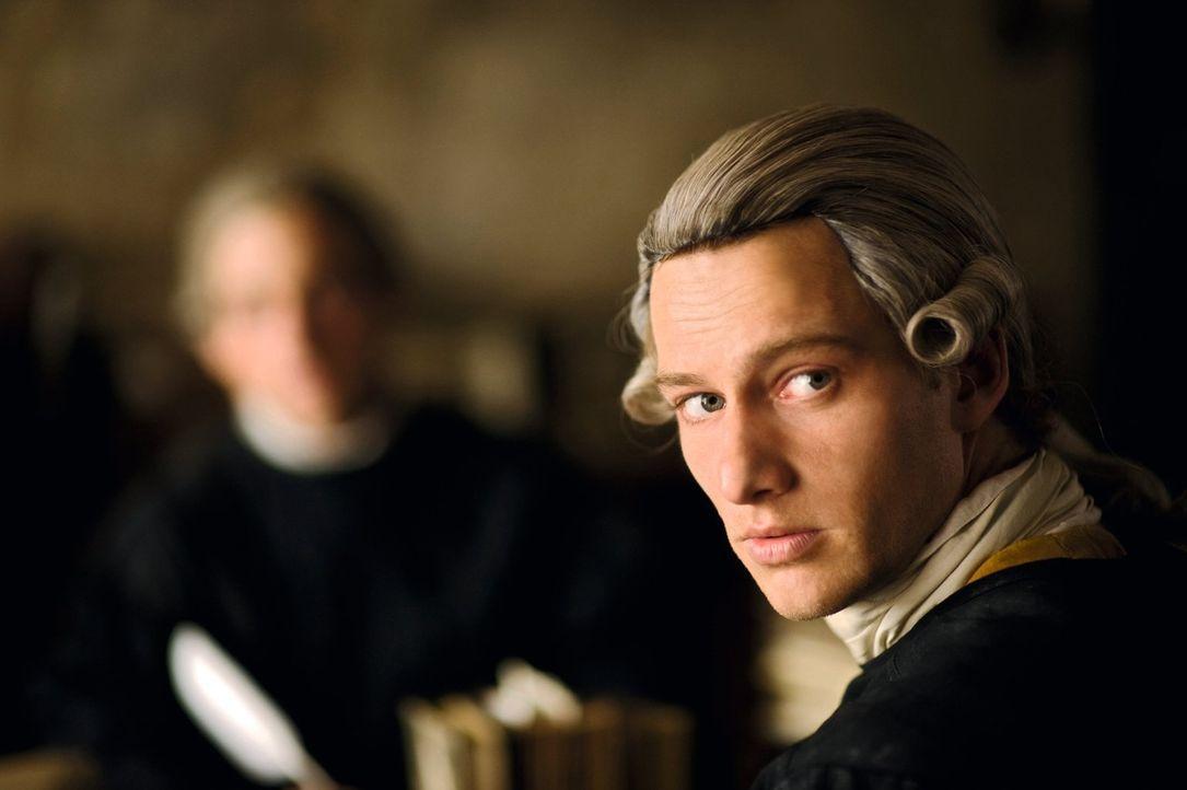 Ahnt nicht, dass ihn sein Liebesbrief, den er durch seine unerfüllte Liebe zu Lotte und deren Leiden geschrieben hat, berühmt machen wird: Dichter J... - Bildquelle: Warner Brothers