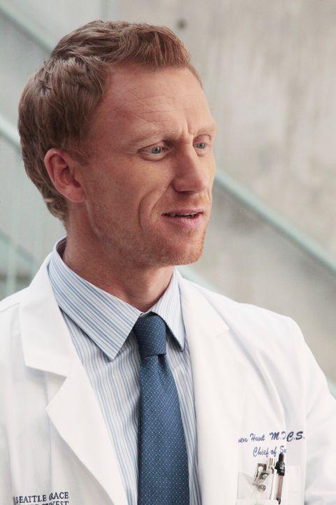 Gerät mit Teddy wegen eines Unfallpatienten in Streit: Owen (Kevin McKidd) ... - Bildquelle: Touchstone Television