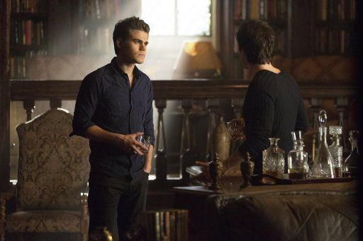 Stefan und Damon - Bildquelle: Warner Bros. Entertainment Inc.