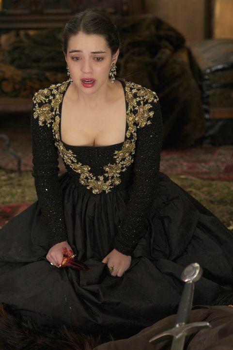 Mary (Adelaide Kane) riskiert alles, um ihr Land und ihre Liebe zu retten ... - Bildquelle: Sven Frenzel 2014 The CW Network, LLC. All rights reserved.
