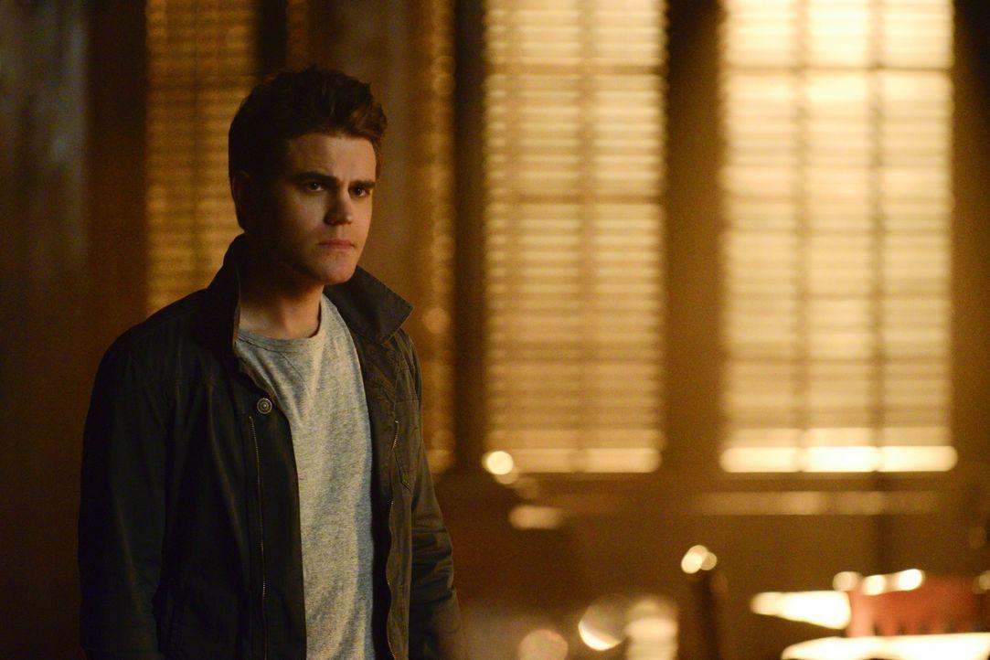 Stefan weiß nicht, wie er mit Caroline umgehen soll - Bildquelle: Warner Bros. Entertainment Inc.