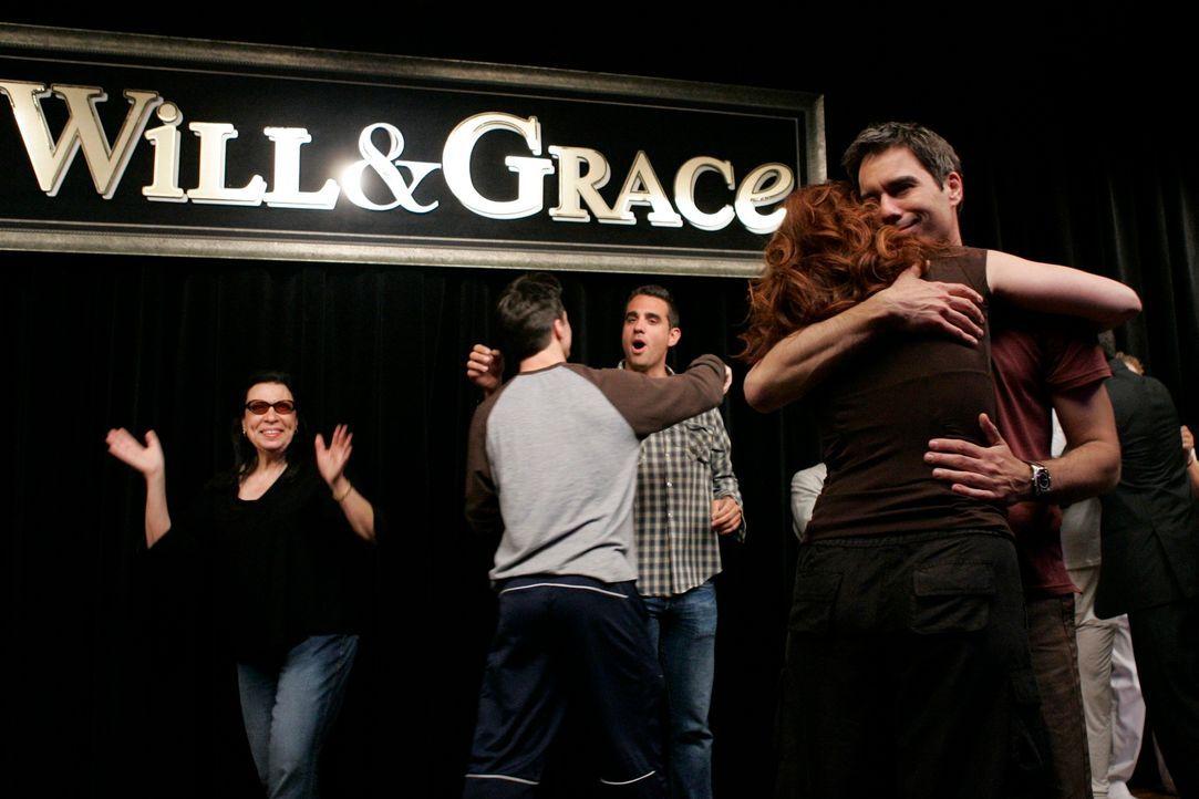 Abschiednehmen nach 8 Staffel Will & Grace ... - Bildquelle: NBC Productions