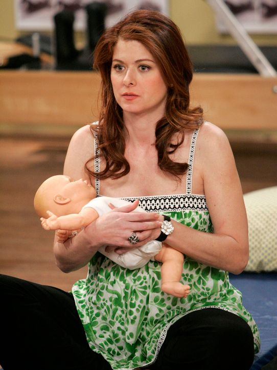 Die Geburt ihres Babys rückt immer näher und Grace (Debra Messing) bekommt allmählich richtig Panik ... - Bildquelle: Chris Haston NBC Productions