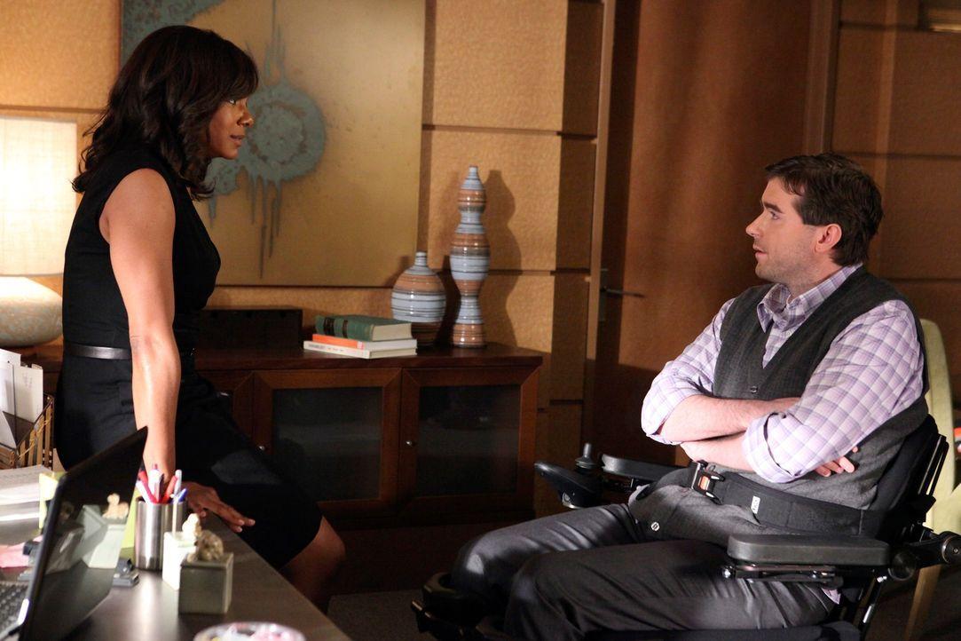 Hat ihre Liebe eine Zukunft? Naomi (Audra McDonald, l.) und Fife (Michael Patrick Thornton, r.) ... - Bildquelle: ABC Studios