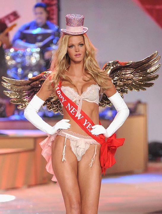 Erin Heatherton bei den Victoria's Secret Engeln - Bildquelle: AFP