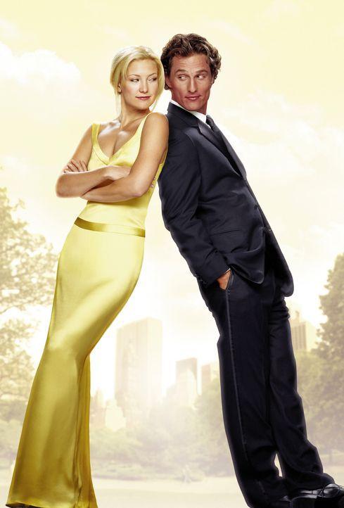 """""""Wie werde ich ihn los - in 10 Tagen"""" mit Kate Hudson (l.) und Matthew McConaughey (r.) - Bildquelle: Paramount Pictures"""