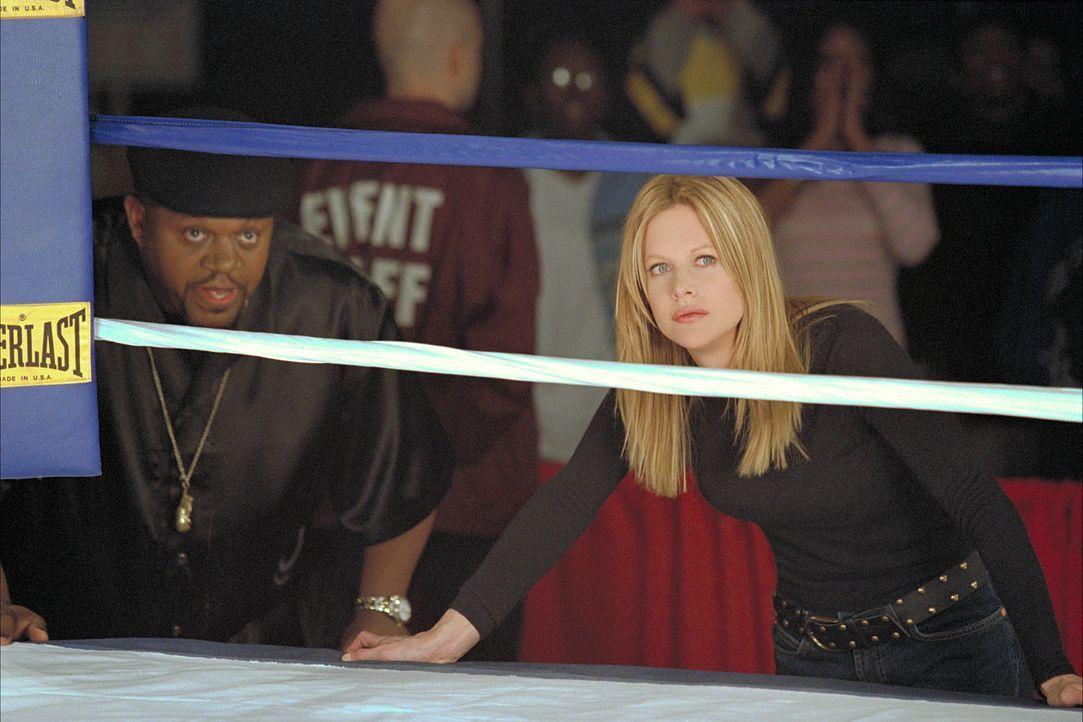 Machen sich daran, die Boxwelt aus den Angeln zu heben: Boxveteran Felix Reynolds (Charles S. Dutton, l.) und Jackie Kallen (Meg Ryan, r.), die erst... - Bildquelle: Paramount Pictures