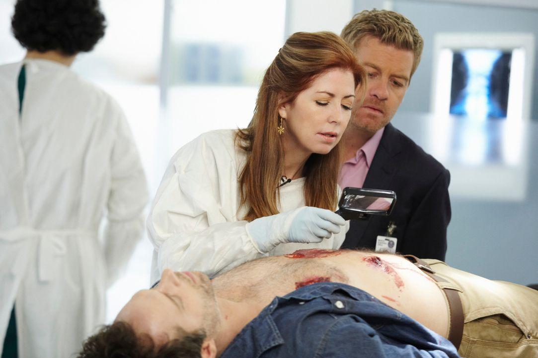 Dank ihrer überragenden medizinischen Kenntnisse ist Dr. Megan Hunt (Dana Delany, l.) in der Lage, Verbrechen auf ihre ganz eigene und bisweilen zie... - Bildquelle: ABC Studios
