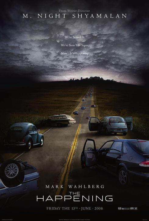 The Happening - Plakatmotiv - Bildquelle: 20th Century Fox