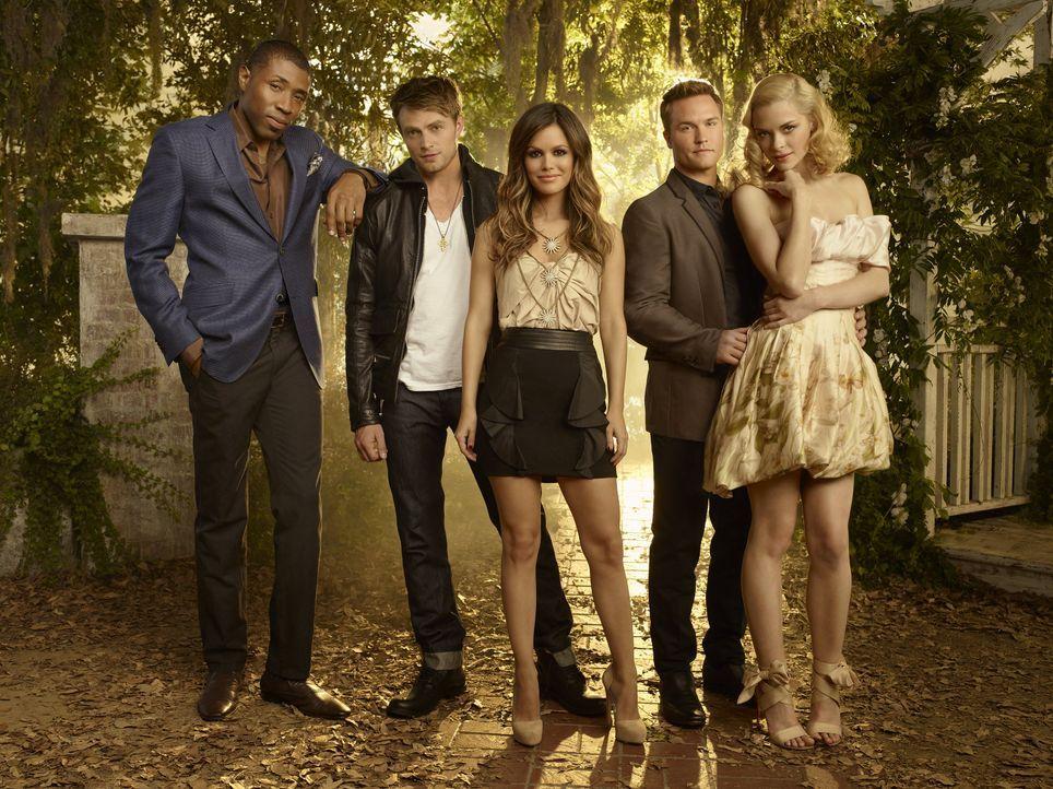 Hart of Dixie: Lavon, Wade, Zoe, George und Lemon  - Bildquelle: Warner Bros. Entertainment Inc.