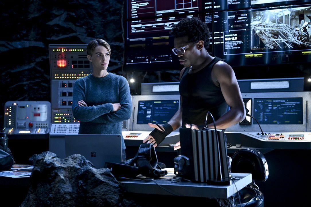 Kate Kane (Ruby Rose, l.); Luke Fox (Camrus Johnson, r.) - Bildquelle: 2020 The CW Network, LLC. All rights reserved.