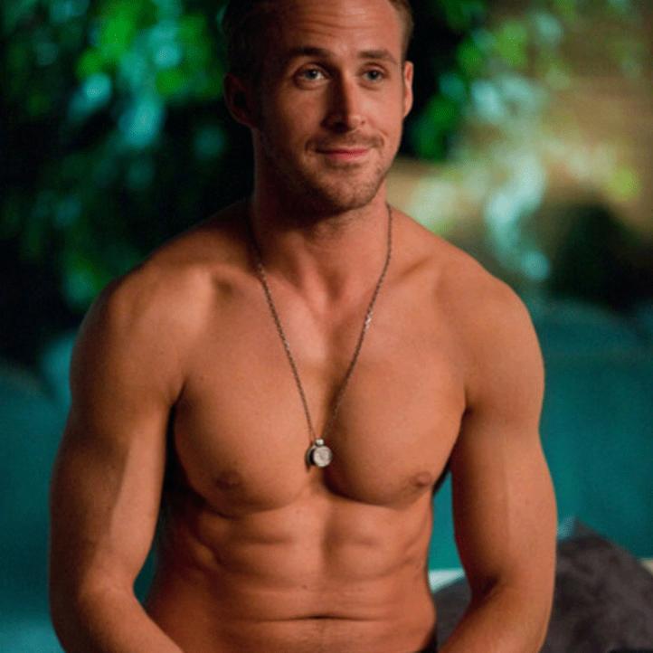 Platz 4 der heißesten Männer oben ohne: Ryan Gosling - Bildquelle: bloglikeitshot
