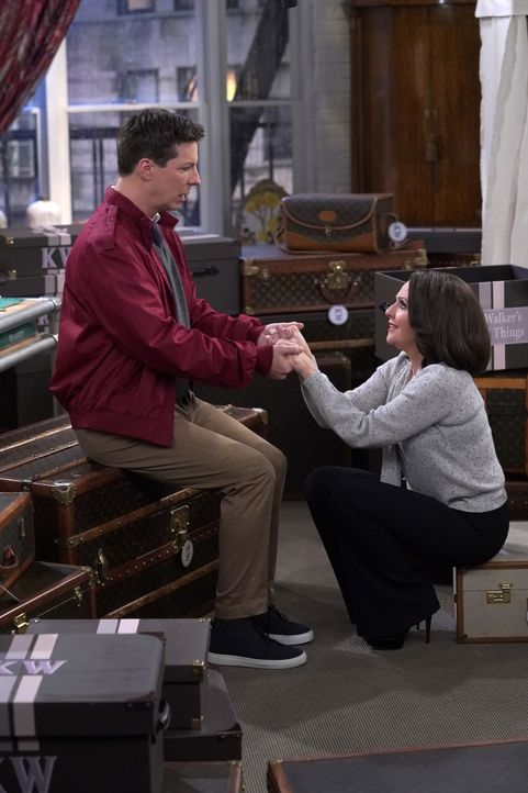 Jack (Sean Hayes, l.); Karen (Megan Mullally, r.) - Bildquelle: Chris Haston 2018 Universal Television LLC. ALL RIGHTS RESERVED./Chris Haston / Chris Haston