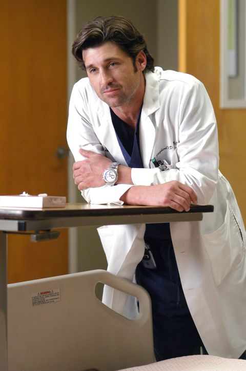 Macht sich Sorgen um Meredith: Derek (Patrick Dempsey) ... - Bildquelle: Touchstone Television