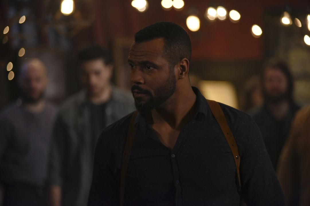 Luke Garroway (Isaiah Mustafa) - Bildquelle: John Medland 2017 Disney Enterprises, Inc. All rights reserved. / John Medland