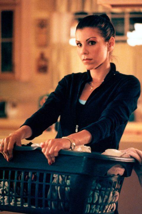 Nach einiger Zeit merkt Lydia (Heather Paige Kent) wie schwierig es ist Studium, Job und Hausarbeit miteinander zu verbinden ... - Bildquelle: CBS Television