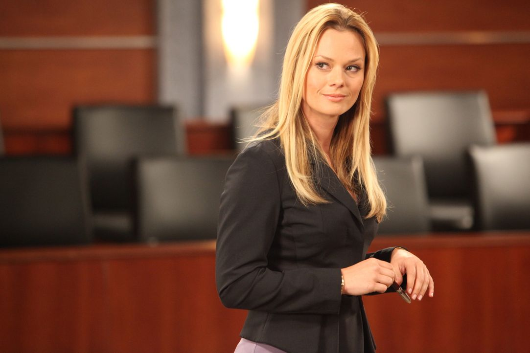 Kims (Kate Levering) aktueller Fall ist alles andere als einfach. Gibt es trotzdem eine Chance für ihren Klienten? - Bildquelle: 2012 Sony Pictures Television Inc. All Rights Reserved.