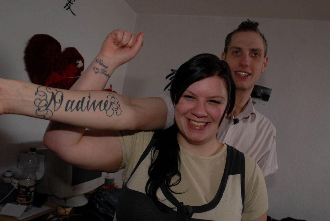 Wollen trotz aller Streitereien heiraten: Nadine, l. und Patrick, r. - Bildquelle: ProSieben